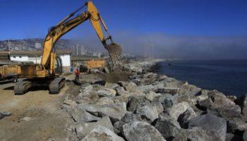 Aumento de marejadas golpea puertos chilenos: más de 6 mil veces debieron cerrar.